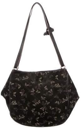 Bottega Veneta Butterfly Print Shoulder Bag