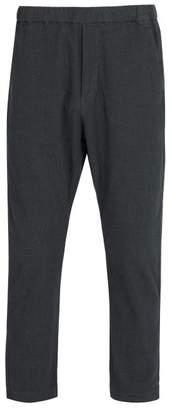 Barena Venezia - Drawstring Waist Cotton Blend Trousers - Mens - Blue