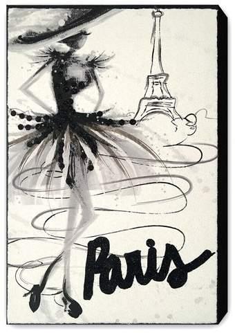 Buy Wynwood Studio Wynwood Fashion Doll Paris Canvas Wall Art!