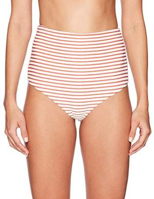 Mara Hoffman Women's Lydia High Waisted Bikini Bottom Swimsuit