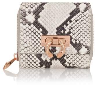 Amanda Wakeley Natural Python Leather Jagger Wallet