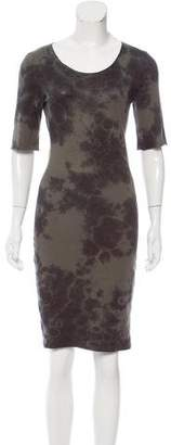 Raquel Allegra Tie-Dye Knee-Length Dress w/ Tags