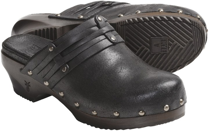 Frye Clara Stud Clogs (For Women)