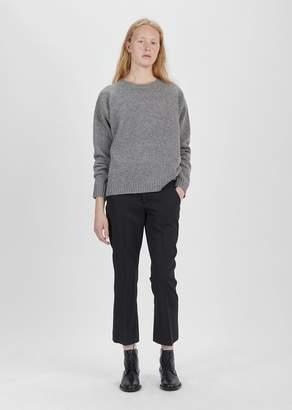 Isabel Marant Maroan Wide Leg Trouser Black