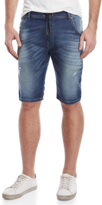 Diesel Krooshort Drawstring Denim Shorts