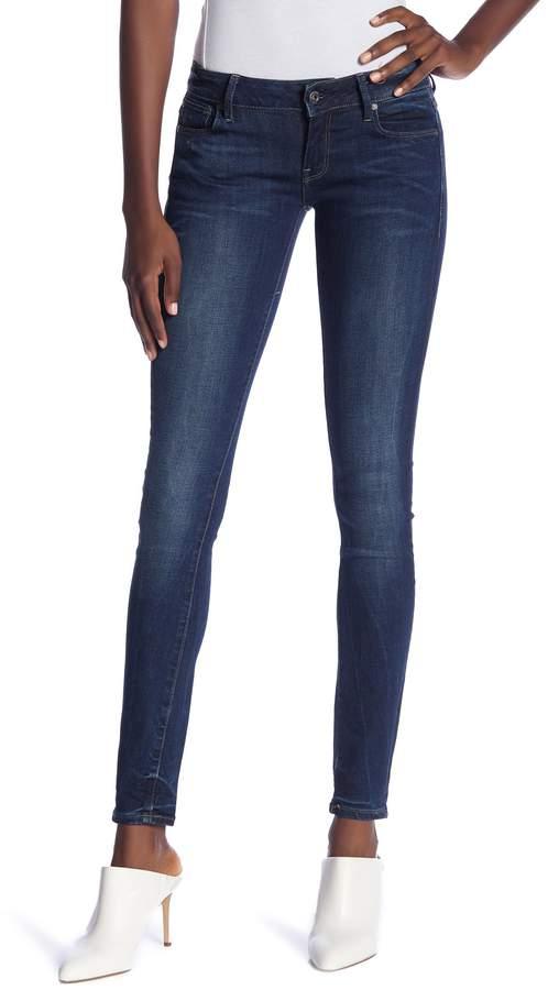 G-STAR RAW Low-Rise Skinny Jeans