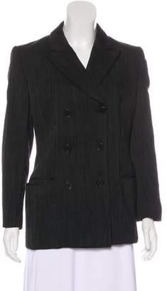 Calvin Klein Collection Wool Peak-Lapel Blazer
