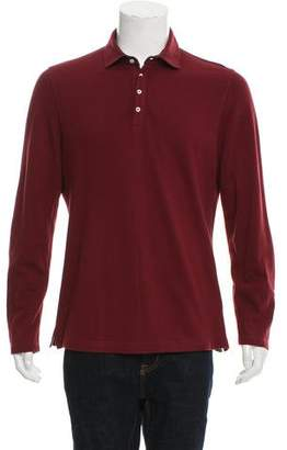 Brunello Cucinelli Button-Up Polo Shirt