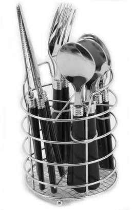 Gibson Sensations Ii 16 Piece Plastic Handle Flatware