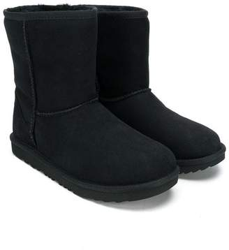 UGG TEEN fur lined boots