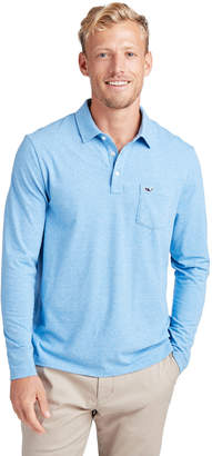 Vineyard Vines Long-Sleeve Solid Edgartown Polo