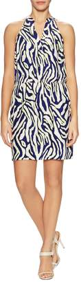 Alice & Trixie Women's Rory Silk Printed Flared Dress