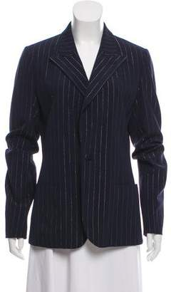 Jean Paul Gaultier Pinstripe Wool Blazer