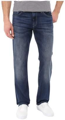 Mavi Jeans Matt Mid-Rise Relaxed Straight in Mid Indigo Cooper Men's Jeans