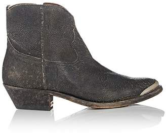 Golden Goose Women's Young Distressed Leather Ankle Boots