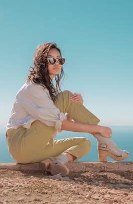 Toms Ibiza Platform Slingback Sandal