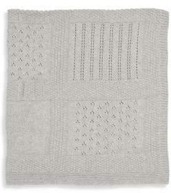 Elegant Baby Seed Knit Textured Blanket