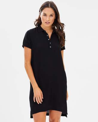 Polo Ralph Lauren Silk Short-Sleeve Polo Dress