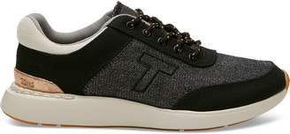 Toms Black Canvas with Shiny Woven Women's Arroyo Sneakers