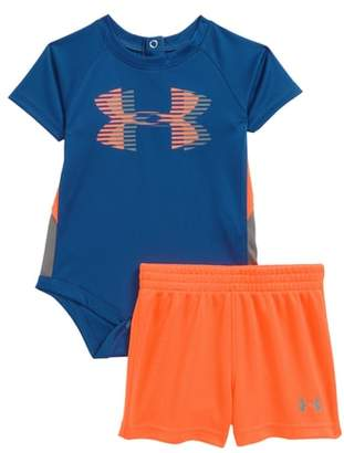 Under Armour Sportster Bodysuit & Shorts Set