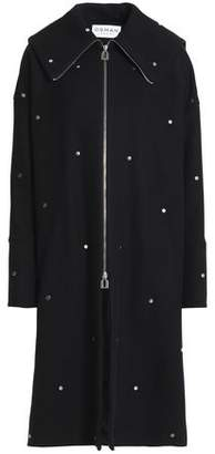 Osman Studded Wool-Blend Coat