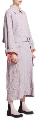 3.1 Phillip Lim Women's Oversized Trench Coat - Lavender - Size Small