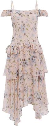 LoveShackFancy Marceline Off Shoulder Dress