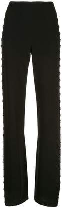Cinq à Sept Highland studded trousers