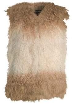 Adrienne Landau Mongolian Fur Vest