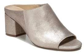 Naturalizer Cyprine Shimmery Leather Mules