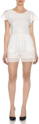 Women's Joe's Vienna Cotton Romper $228 thestylecure.com