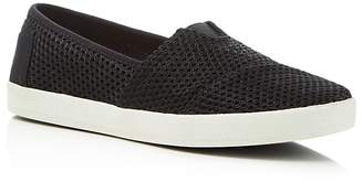 Toms Women's Avalon Layered Mesh Slip-On Sneakers