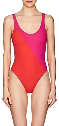 Araks Women's Harley Colorblocked One-Piece Swimsuit - Fuschia & Poppy