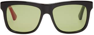 Gucci Black Urban Colorblocked Sunglasses