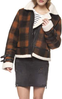 Dex Checkered Plaid Coat