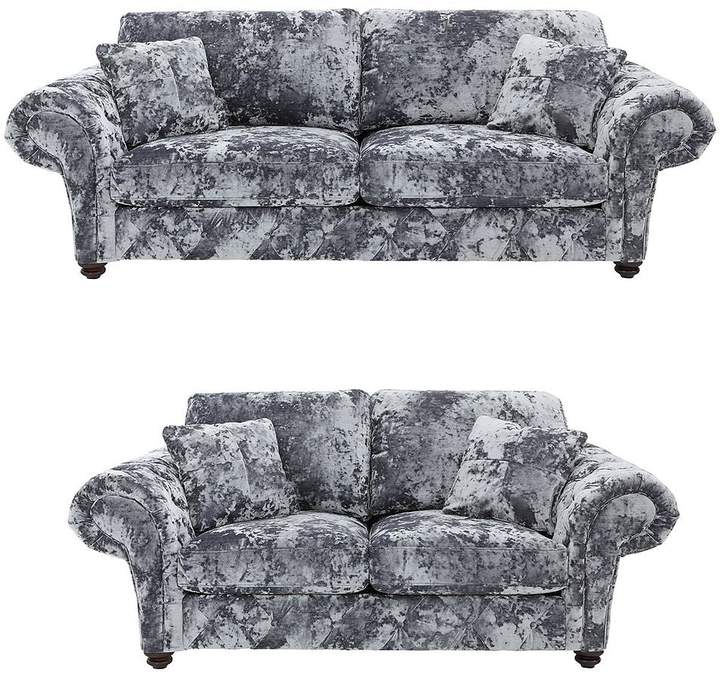 Bellini 3 + 2 Seater Fabric Sofa Set