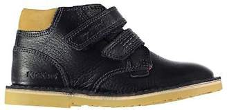 Kickers Boys Twin Lthr InfCL99 Loafers