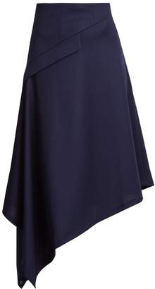J.W.Anderson Asymmetric-hem midi skirt