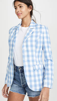 ENGLISH FACTORY Gingham Blazer