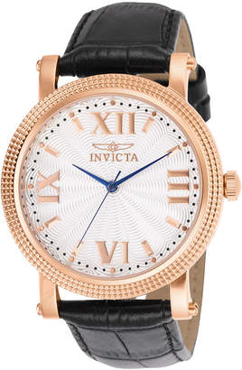 Invicta 25752 Rose Gold-Tone & Black Vintage Watch