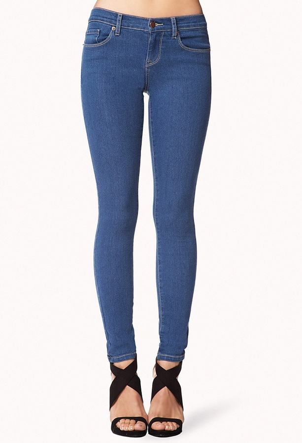 FOREVER 21 Five Pocket Skinny Jeans