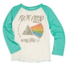 Rowdy Sprout Baby's, Little Girl's & Girl's Pink Floyd Raglan Tee