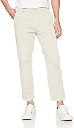 Hudson Men's Clint Cropped Chino Pant