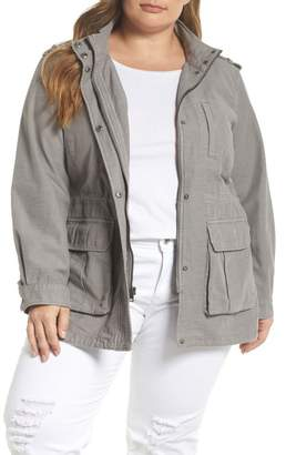 Levi's Cotton Fishtail Field Jacket (Plus Size)