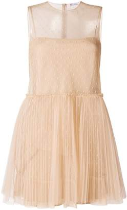 RED Valentino sheer tulle mini dress