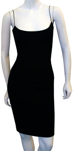 The Row Weatherby Dress In Black