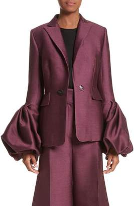 Roksanda Narika Wool & Silk Jacket