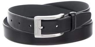 HUGO BOSS Leather Buckle Belt