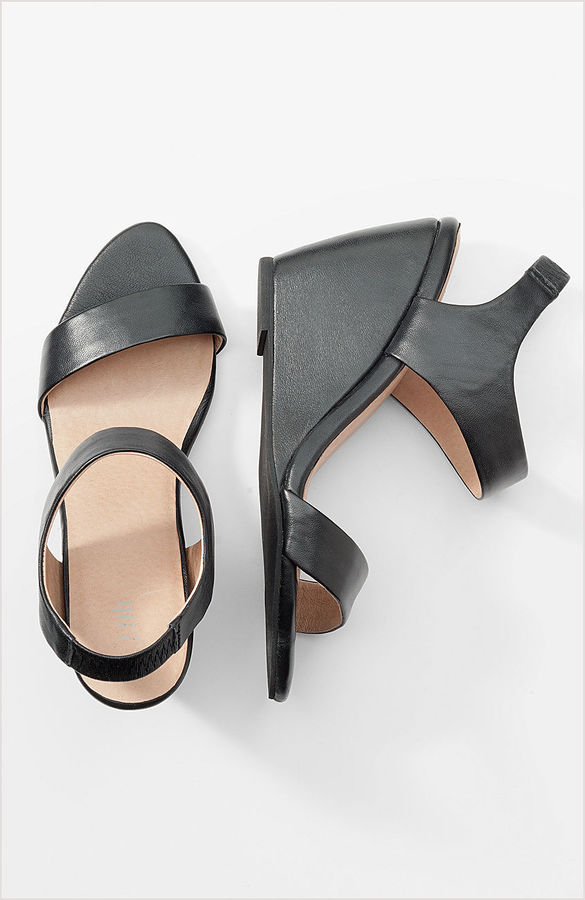 Ankle-strap wedges