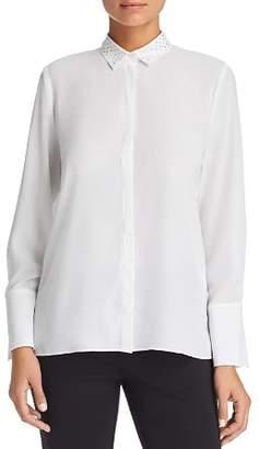 Le Gali Frances Rhinestone-Collar Blouse - 100% Exclusive